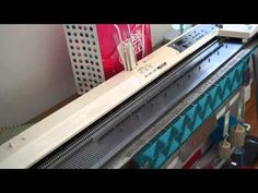 Faux Cable for Knitting Machines super simple - YouTube