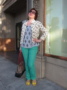 My Style: Colored Pants