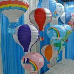 "1 PCS 12""/30CM Hot Air Balloon Paper LanternsWedding Festival Party Decor  #Unbranded #Festival"