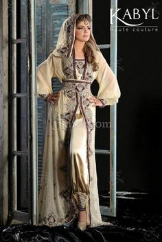 Tenue traditionnelle tunisienne en soie tiss e la main for Haute kabylie