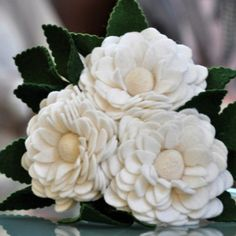 Pioen Boeket, origineel bruidsboeket, alternatief bruidsboeket, felt flowers…