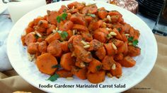 """I made and shared my """"Foodie Gardener Marinated Mediterranean Carrot Salad"""" for the Home & Family TV show's """"Thanksgiving Special"""" last week. Cooking from the garden is always a joy. All I had..."""