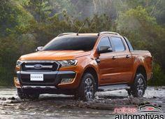 Ford mostra Ranger 2016 em versão Wildtrak