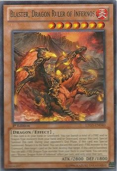 Hot New Release! Yu-Gi-Oh! - Blaster, Dragon Ruler of Infernos (LTGY-EN040) - Lord of the Tachyon Galaxy - 1st Edition - Rare - Yu-Gi-Oh! is a strategic trading card game in which two players Duel each other using a variety of Monster, Spell, and Tra