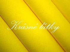 sytě žluté bavlněné plátno,pampeliška, slunce,v šíři 150 cm, bavlněná