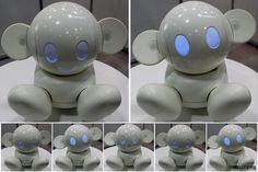Japanese #Robot to chat, play and help people.