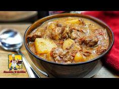 Beef Stew   Beef Stew Slow Cooker   Guisado De Carne - YouTube Crock Pot Slow Cooker, Slow Cooker Recipes, Meat Recipes, Crockpot Recipes, Cooking Recipes, Healthy Recipes, Delicious Recipes, Healthy Food, Kitchens