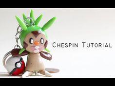 Pokémon Chespin Charm polymer clay tutorial