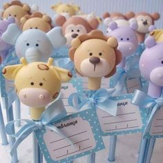 ideas for baby shower souvenirs porcelana fria Baby Shower Pasta, Baby Boy Shower, Shower Party, Baby Shower Parties, Clay Crafts, Diy And Crafts, Baby Shower Souvenirs, Baby Shawer, Pencil Toppers