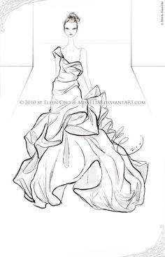 55 Inspiring Fashion Sketches & Illustrations