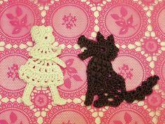 以前、 赤ずきんちゃんのモチーフを作りましたがオオカミのモチーフも編んでみたいとの依頼を受けました。 かなりいい感じに仕上がったと思います^^  ...