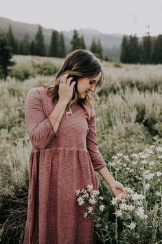 Modest 3/4 Sleeve Dress | ROOLEE