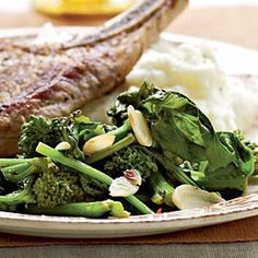 Spicy Garlic Broccoli Rabe | MyRecipes.com