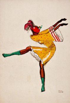 La popular Josephine Baker, de la mano de Paul Colin.