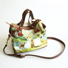 The Bambi Bag  Satchel Model  Leather and by iheartnorwegianwood, $295.00