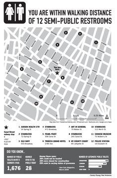 Restroom map