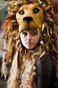 "Harry Potter Challenge: Your favorite female character and why  Luna Lovegood ""She's slightly out of step in many ways but she's the anti-Hermione. Hermione's so logical and inflexible in so many ways and Luna is likely to believe ten impossible things before breakfast."" J.K. Rowling"