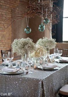 * Con B de Boda *: Mesas para tu boda