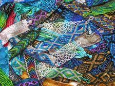 How to Do Flat Bead Work With Seed Beads #beadwork #beads #bead work