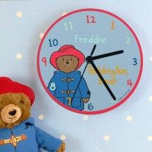 Learn to tell the time with this adorable personalised Paddington clock! Personalise this Paddington Bear clock with a name up to 12 characters. Personalized Clocks, Personalized Birthday Gifts, Christmas Stocking Fillers, Christmas Gifts For Kids, Paddington Bear, Birthday Gifts For Kids, Childrens Gifts, Unusual Gifts, Just For You