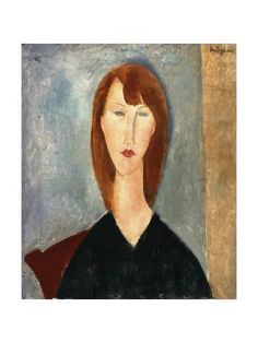 Italian painter and sculptor Amedeo Modigliani was born in He's known for painting nudes and portraits, particularly of women with elongated faces and bodies. 'Portrait of an Unknown Model' by Amedeo Modigliani Manchester Art Gallery Amedeo Modigliani, Modigliani Paintings, Italian Painters, Italian Artist, Manchester Art, Art Moderne, Art Uk, Illustrations, Painting & Drawing