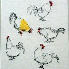 Chickens - by Kirsty Elson (kirstyelsondesigns@live.co.uk )