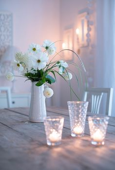 Hello Autumn, Tablescapes, Table Decorations, My Style, Flowers, Inspiration, Furniture, Summer, Home Decor