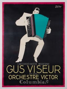 Gus Viseur. Now we know where David Byrne got the inspiration for his big suit in Stop Making Sense.