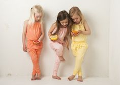 Gugguu unique and comfortable clothing for kids. Fun colours in plain and simple designs.