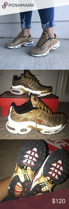 faf5606e0   WORN ONCE   Women s Nike Air Max Plus TAKING OFFERS. size 6