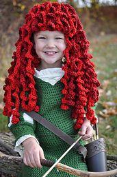 Ravelry: thepinktoque's Brave Merida Costume Wig