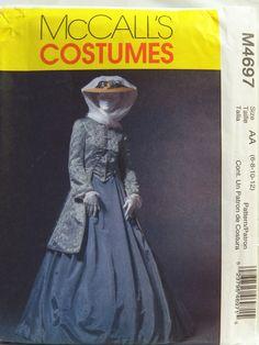 McCall's 4697 Misses' Civil War Coat, Skirt and Shawl