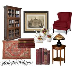 """""""THINGS I LOVE SUNDAY~ THE LIBRARY"""" by wiltshirestyle on Polyvore"""