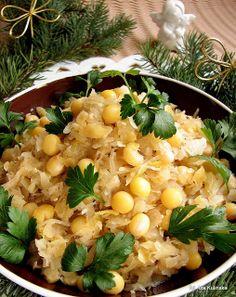 6) Cabbage with peas/ Smaczna Pyza: Kapusta z grochem i olejem rzepakowym #Christmas #christmasdinner #poland #cabbage