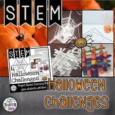 4 Halloween STEM Cha