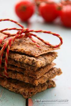 Sokmagvas gluténmentes lapkenyér – korpás keksz GM alternatívája