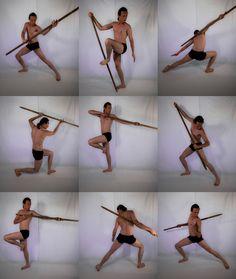 Staff Warrior Stock Pack 1 - HQ by MD-Arts.deviantart.com on @deviantART