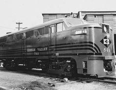 First diesel   Lehigh Valley, Pennsylvania