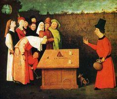 The Conjuror, Hieronymus Bosch