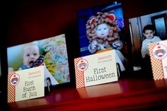 Great idea for a first birthday party--maybe I'll do this with the twins?