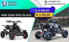 mini atv firehjuling for barn. 50cc, Atv, Quad, Monster Trucks, Mini, Black, Quad Bike, Atvs, Black People