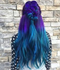 "10k Likes, 36 Comments - Pulp Riot Hair Color (@pulpriothair) on Instagram: ""@painted_hair_ is the artist... Pulp Riot is the paint."""