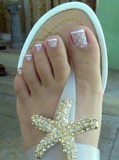 Polka dot toed *done*