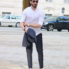 Rate this outfit guys 1 - 10 🤔 Hope you have wonderful Sunday 😊 Gray Suits, Man Dressing Style, Shirt Style, Sunday, Handsome, Normcore, Lifestyle, Guys, Formal