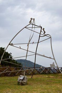'Omaggio a Gramsci' di Maria Lai, museo Stazione dell'Arte, Ulassai, Ogliastra