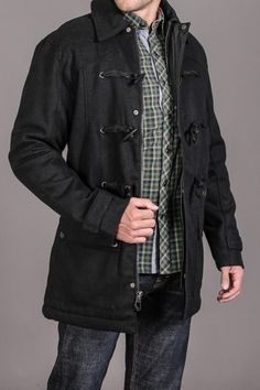 Baron Peacoat. I feel like this is something John would wear.