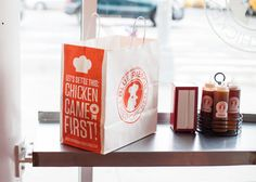 Blue Ribbon Fried Chicken by RED ANTLER, via Behance