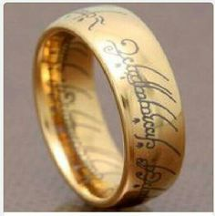 lord of the rings tungsten carbide this will be my wedding band no matter what my future wife says - Lord Of The Rings Wedding Band