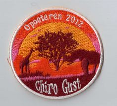 Is your camp theme 'safari' or 'Africa'? Every youth movement should have this. The kids can sew or iron this patch on their uniform. It's the coolest memory in the world! ***ibadge.com***