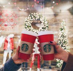 christmas, starbucks, and coffee image Christmas Time Is Here, Christmas Mood, Merry Little Christmas, All Things Christmas, Winter Things, Xmas, Holiday Mood, Christmas Shopping, Chocolate Navidad